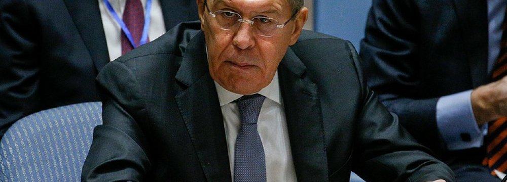 Lavrov: Northern Afghanistan Turning Into Springboard for International Terrorism