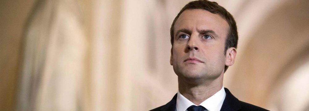 Macron Calls for More Sanctions  on Venezuela