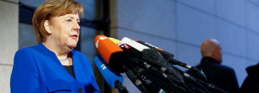 Merkel Strikes Deal With Social Democrats