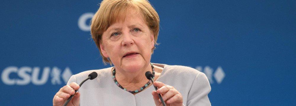 Merkel: US, Britain Unreliable