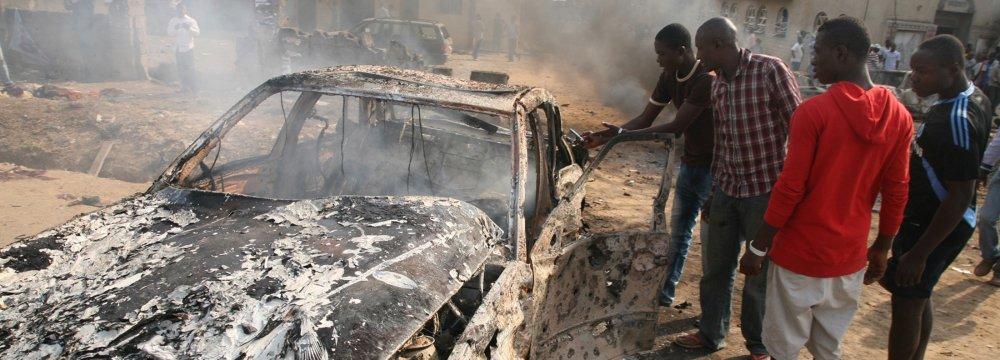 Suicide Bomber Kills 11 in Mosque Attack in Nigeria