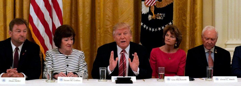 US Republicans Delay Vote on Healthcare Bill