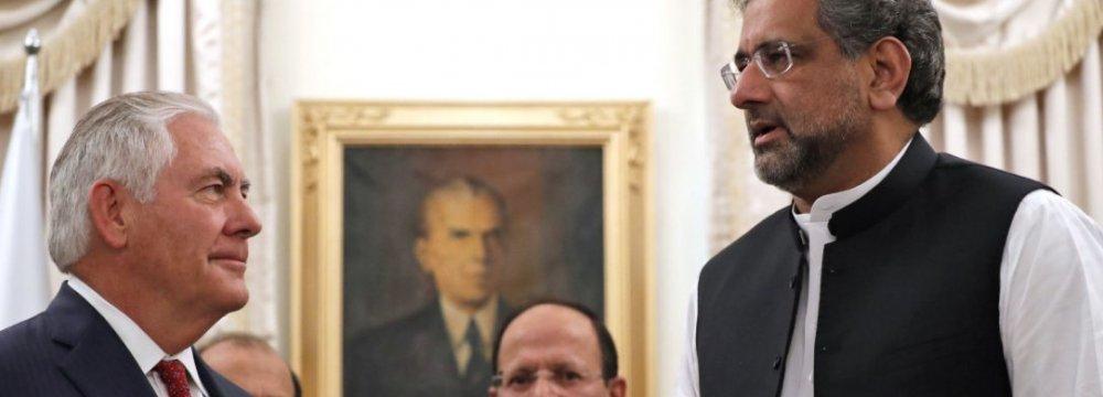 Pakistan Summons US Ambassador Over Trump Tweet