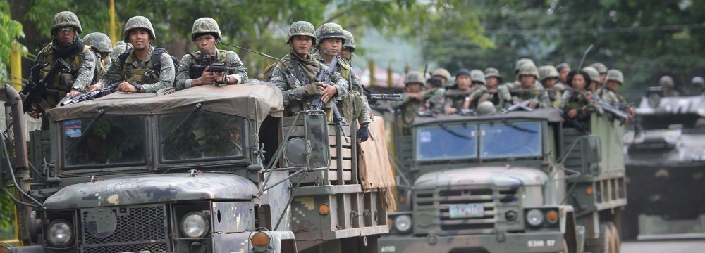Philippines Takes Control of Marawi