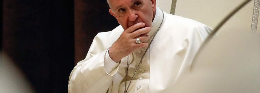 Pope Will Visit Colombia to Boost Peace Process