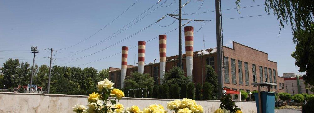 Power Plant in West Tehran Raises Output