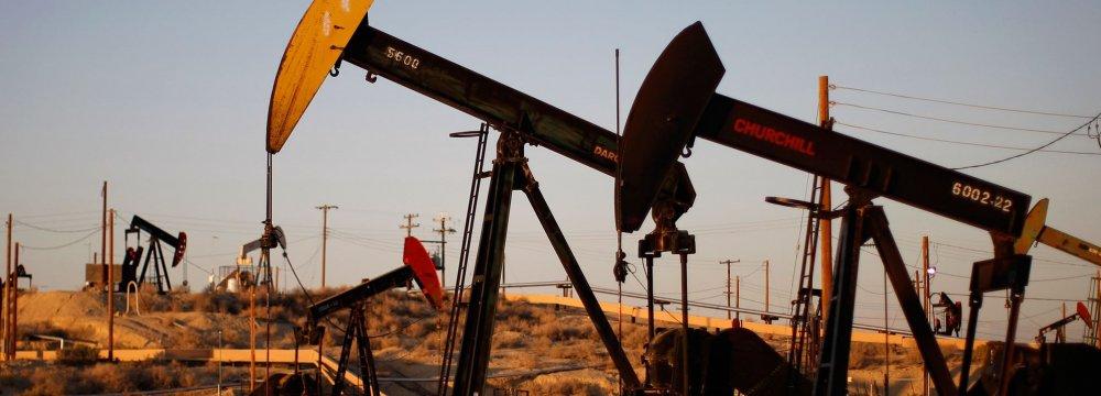 Crude Prices Slide