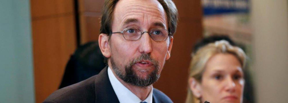 UN Rights Chief Censures EU,  US Over Migrants, Dreamers