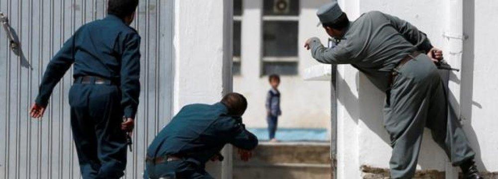 Suicide Attack at Kabul Shi'ite Mosque Kills  14 Civilians