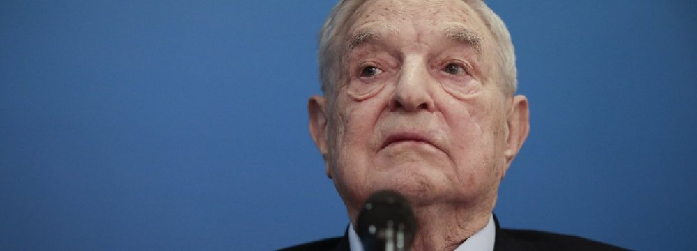 George Soros: Trump Would Like to Establish a Mafia State