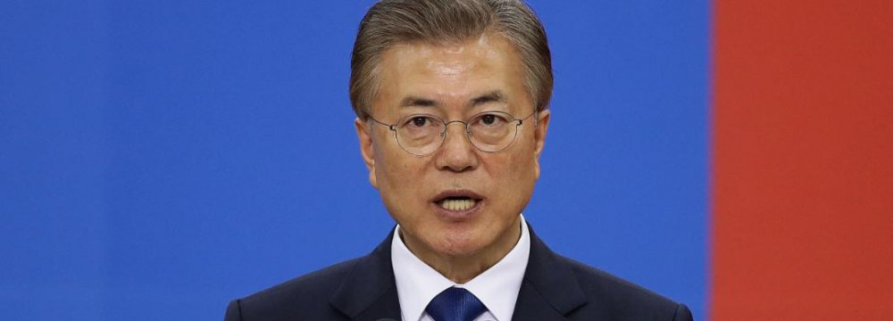 S. Korea's Moon: Too Early to Be Optimistic on North