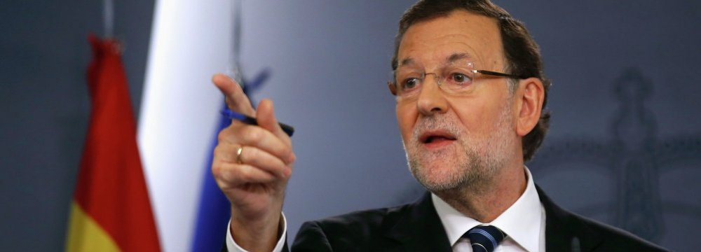 Spanish PM Won't Rule Out Suspending Catalonia's Autonomy