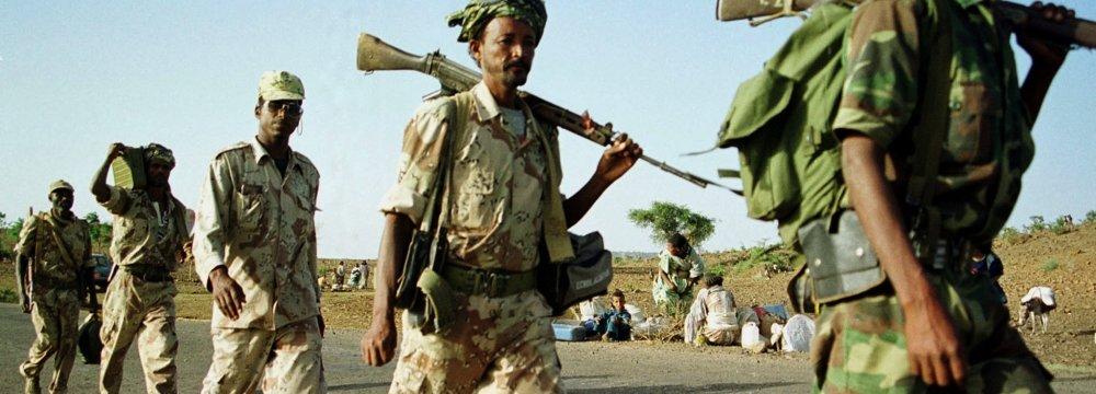 Sudan Deploys More Troops to Eritrea Border