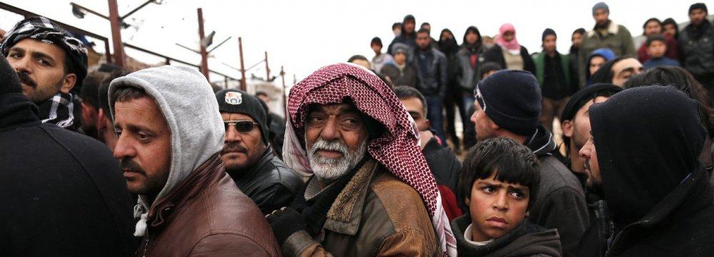 Half Million Displaced Syrians, Refugees Return Home