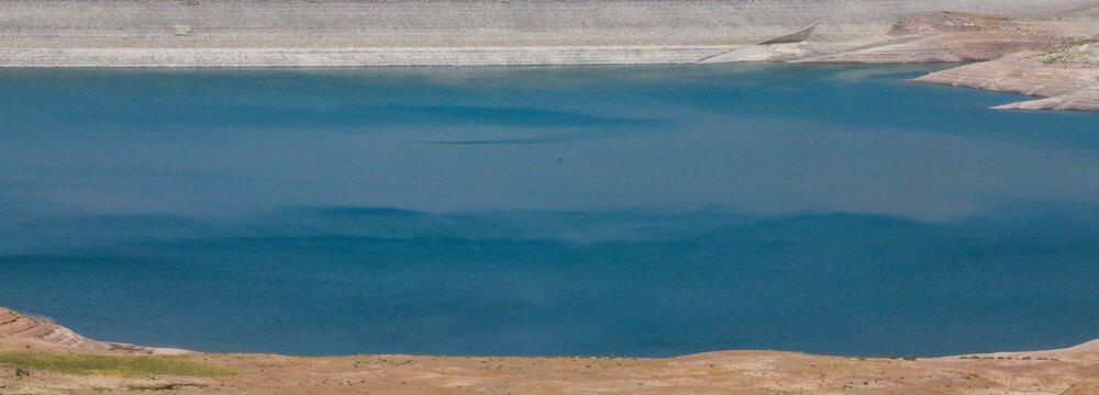 Taleqan Dam Half Empty