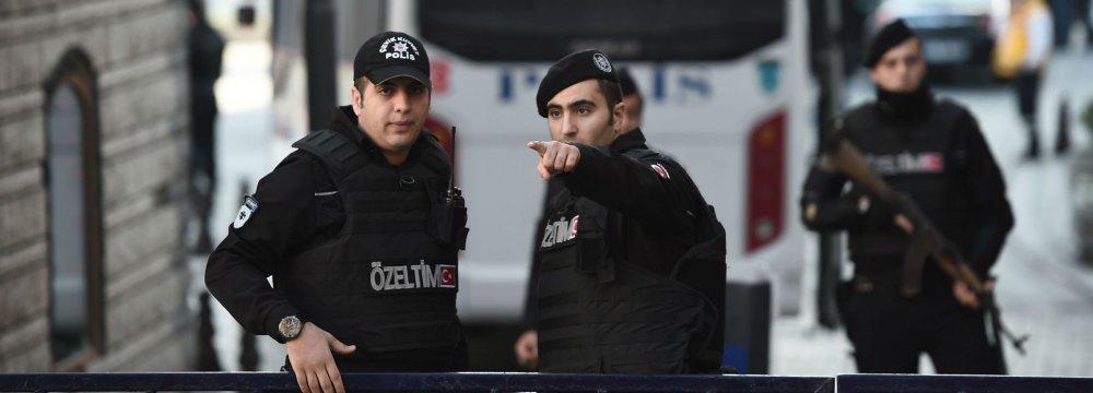 Turkey Arrests Scores Planning New Year's Eve Attacks