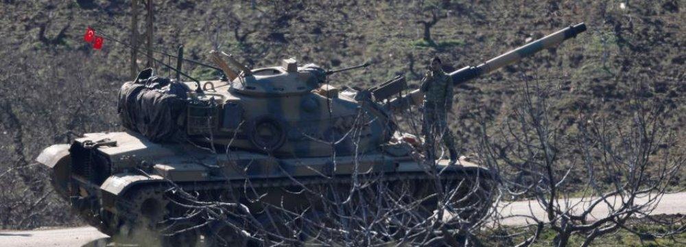 Macron Warns Turkey Over Syrian Operation