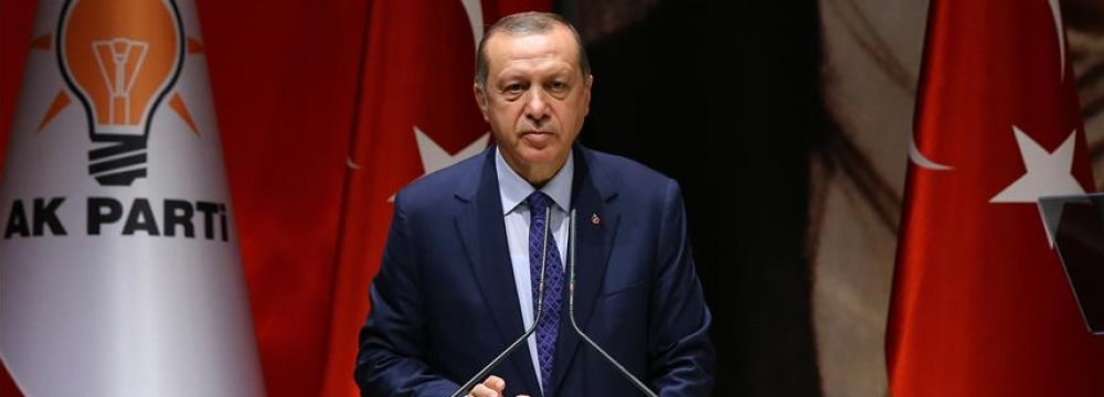 Erdogan Slams CHP Protest March