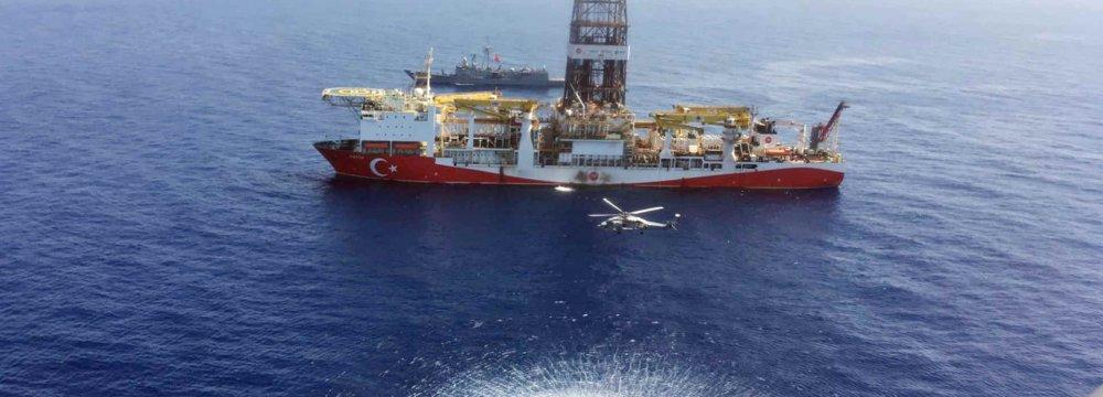 Turkey Continues Oil, Gas Drilling in E. Mediterranean