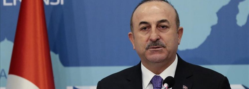"""Turkish FM: Ties With US """"Will Either Fix or Break Completely"""""""