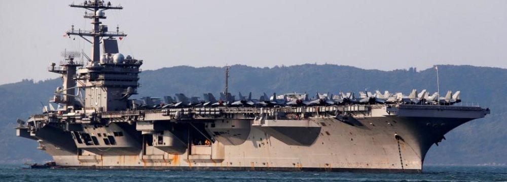US Aircraft Carrier Arrives in Vietnam on Landmark Visit