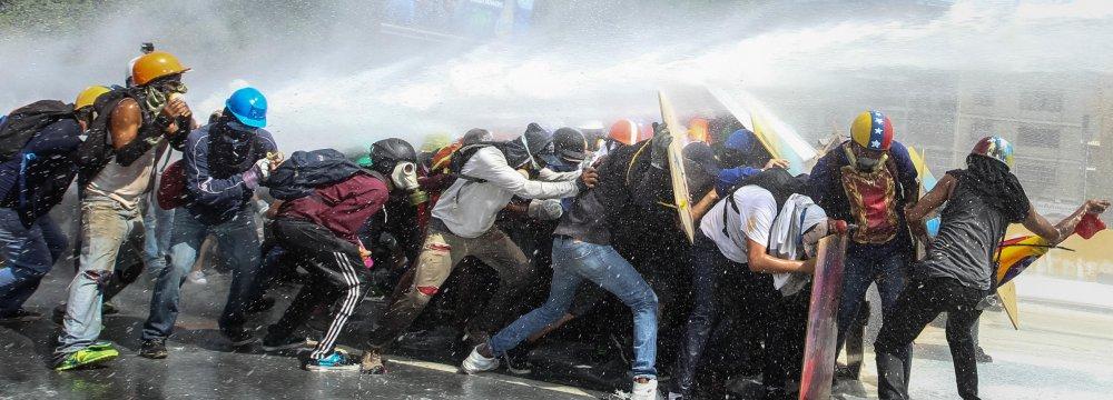 UN Warns Venezuela Over Use of Excessive Force
