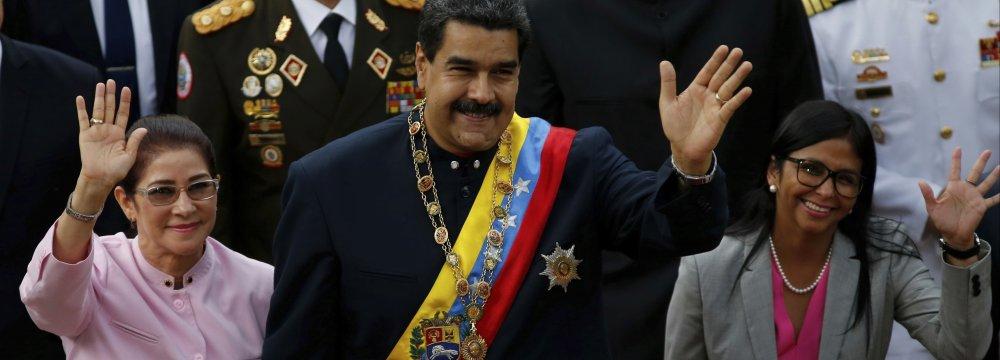 Venezuela's Embattled Leader Wants Meeting With Trump