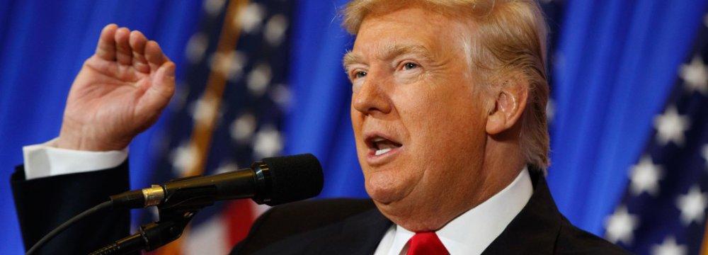 Trump Says Military Option Possible in Venezuela