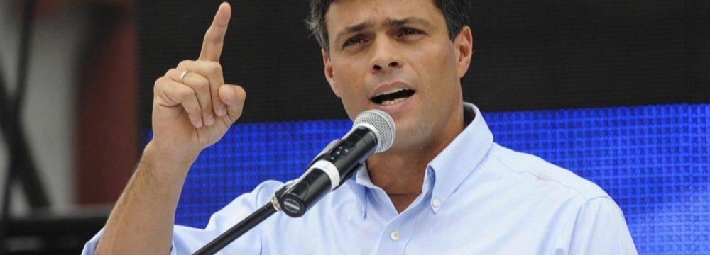 Leading Venezuelan Party  to Boycott Election