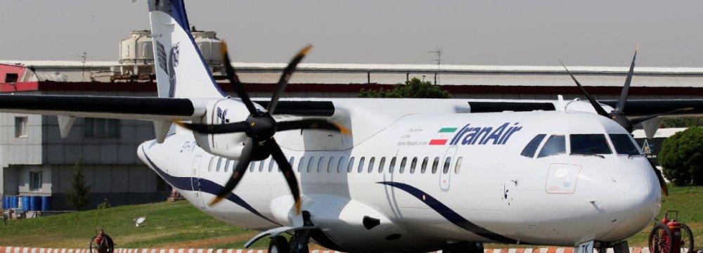 New ATR Planes Join Iran Air Fleet