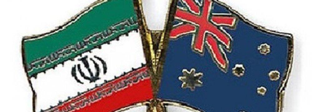Iran's Trade With Australia Grows 13%