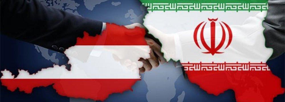 124% Rise in Iran's Non-Oil Trade With Austria