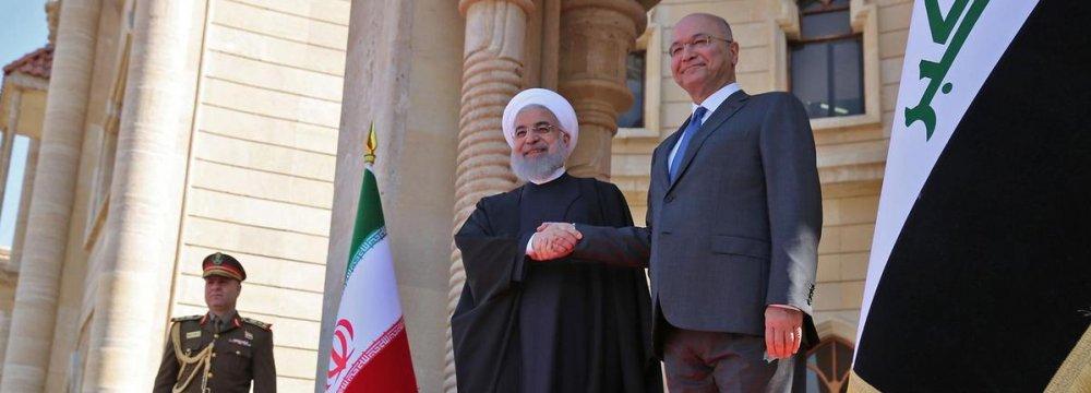Baghdad Hosts Economic Commission With Tehran