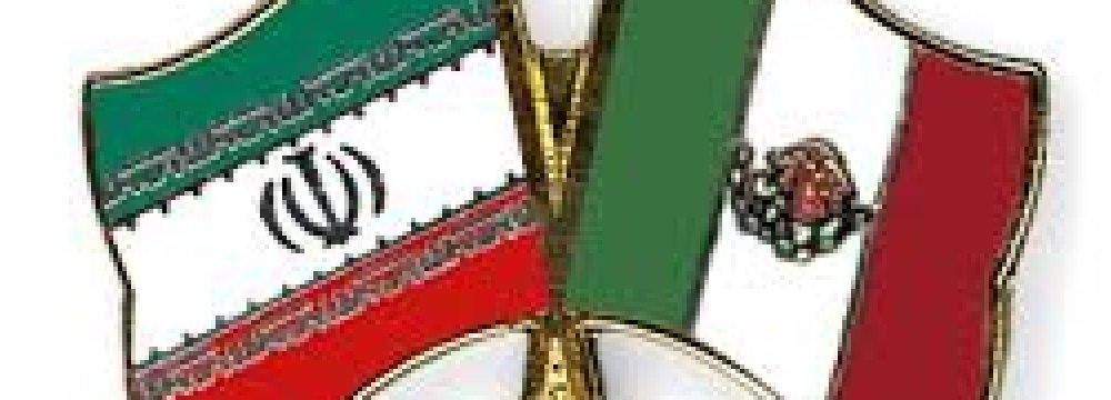 Iran's Non-Oil Trade With Mexico Declines