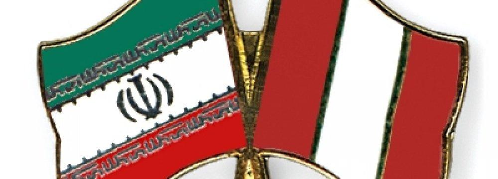 Iran's Trade With Peru Declines
