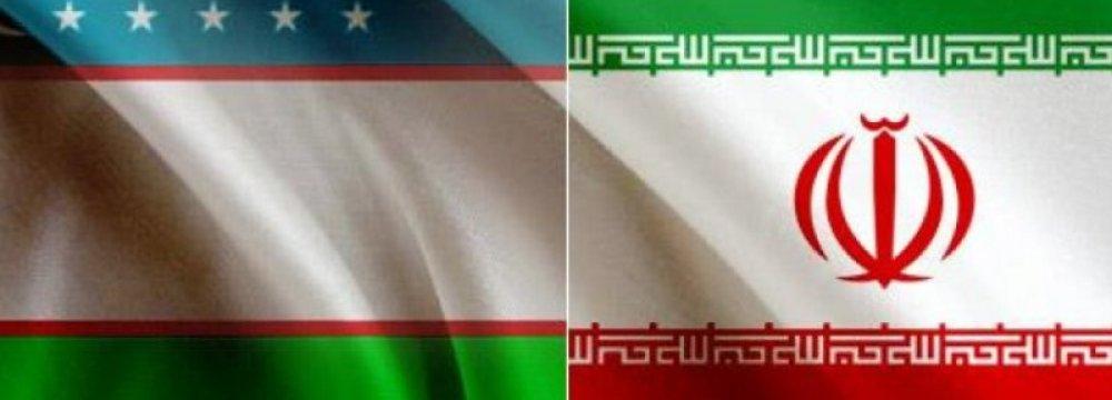 Iran's Non-Oil Trade With Uzbekistan Nearly Triples