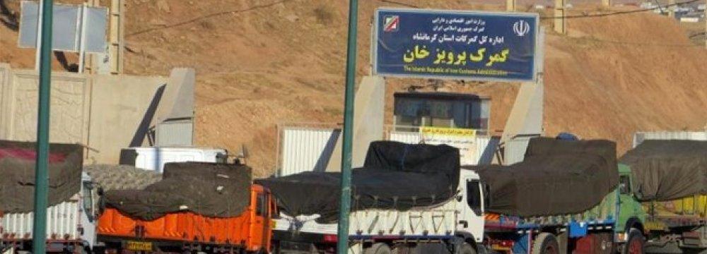 Iran, Iraq Tackle Trade Troubles