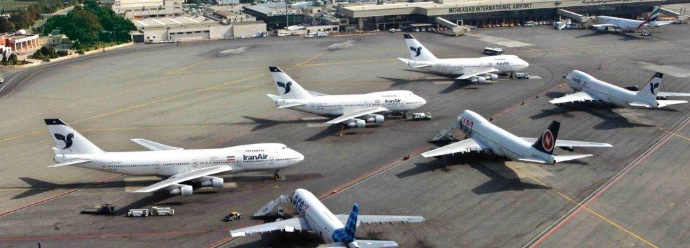 70% Decline in Mehrabad Int'l Airport Passenger Traffic