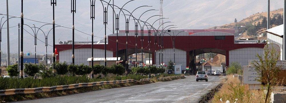 Erbil Disputes Baghdad Border Control, as Iran Reopens Borders