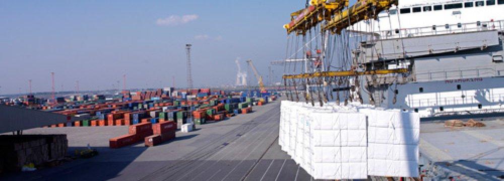 Abadan Port Throughput
