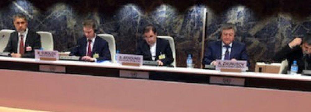 Akhoundi Addresses UNECE Committee