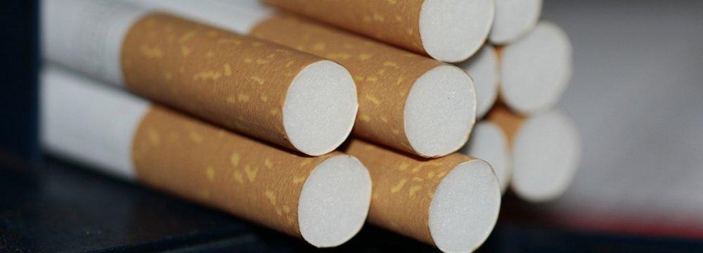 Iran Cigarette Output Up 10%