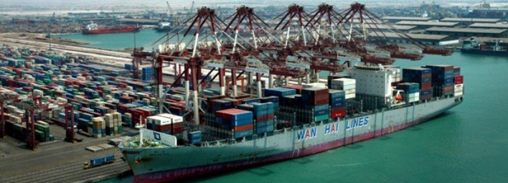 Hormozgan Ports' Throughput  Up 3.6%