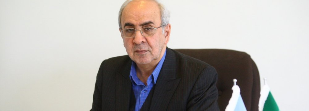 IDRO's Managing Director Mansour Moazzemi
