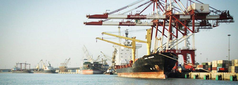 80% of Basic Goods Imports Via Imam Khomeini Port