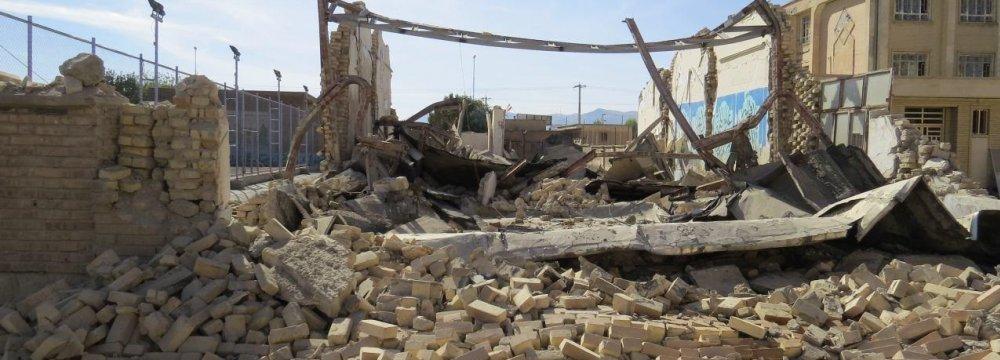 Quake Damage to Kermanshah Agriculture Estimated