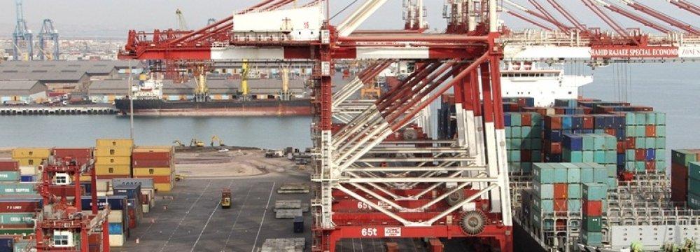 Shahid Rajaee Handles 60% of All Iranian Port Activities