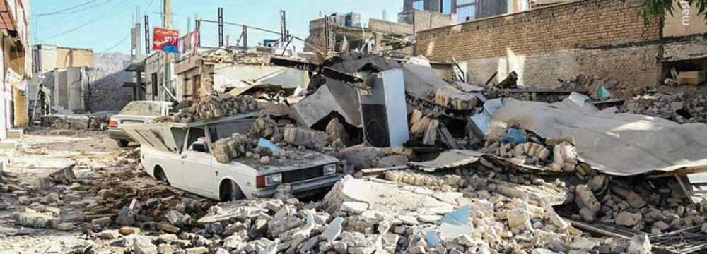 Tax Forgiveness for Quake-Stricken Province