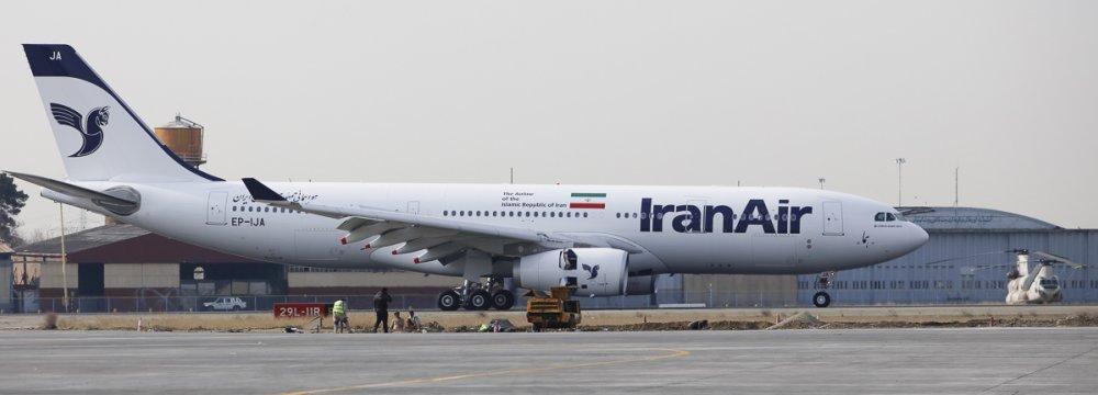 New A330 Operates 1st Int'l Flight
