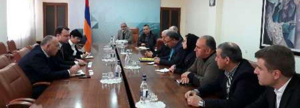 Alborz Trade Mission in Armenia